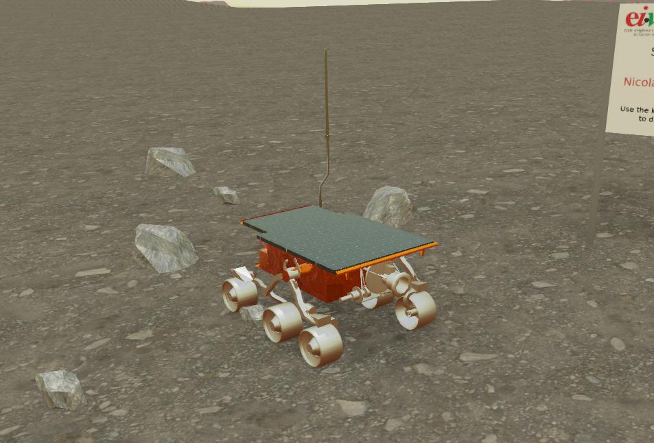 插图2-火星车